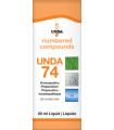 UNDA 74 Homeopathic Remedy